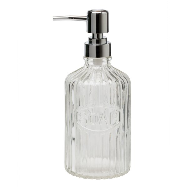 Wiest Basin Glass Pump Soap Dispenser (Set of 4) by Ophelia & Co.