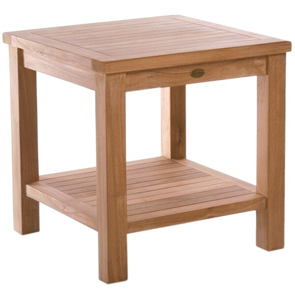 Tundra Teak Side Table by Chic Teak