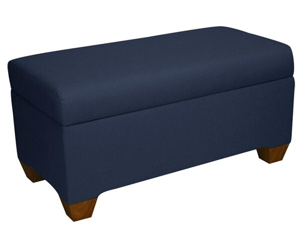 Bernadette Linen Upholstered Storage Bench by Skyline Furniture