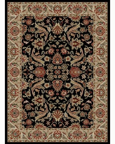 Ankara Sultanabad Black Rug by Threadbind