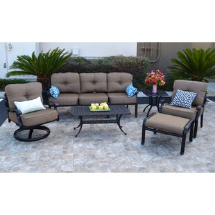Nola 6 Piece Sofa Set with Cushions ByDarby Home Co