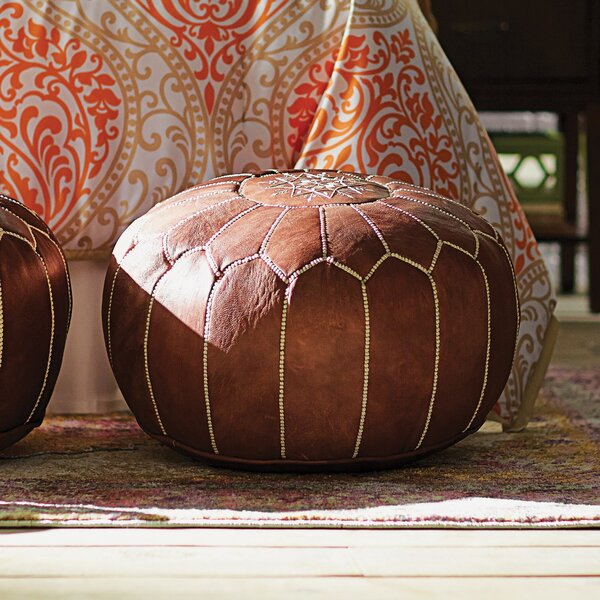 Round Ottomans Amp Poufs You Ll Love Wayfair