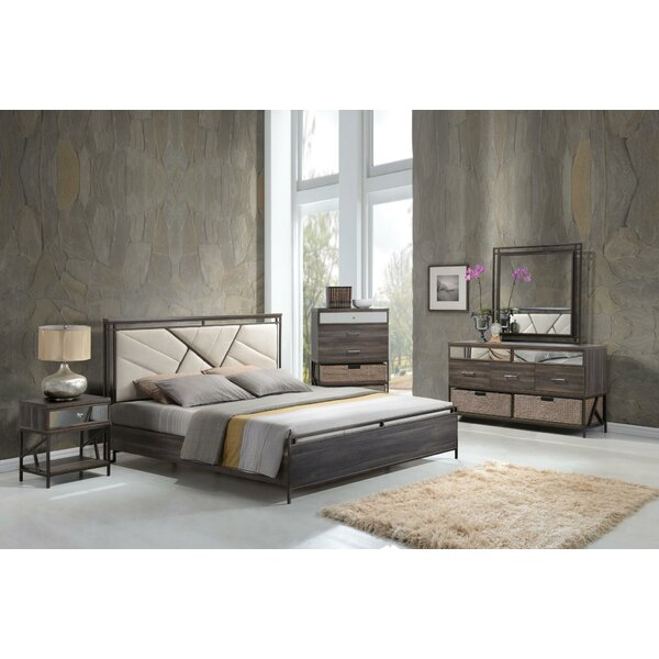 Francisca Upholstered Standard Bed by Brayden Studio