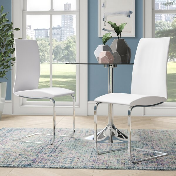 Garnica Upholstered Dining Chair (Set of 2) by Orren Ellis