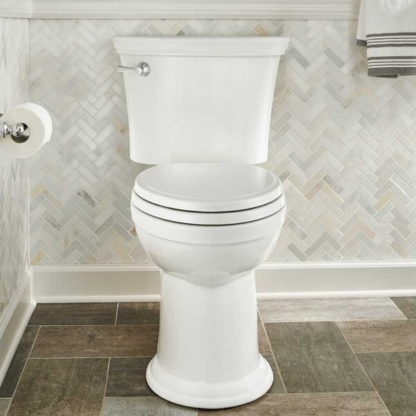 VorMax Heritage 1.28 GPF Elongated Two-Piece Toilet (Seat Not Included) by American Standard