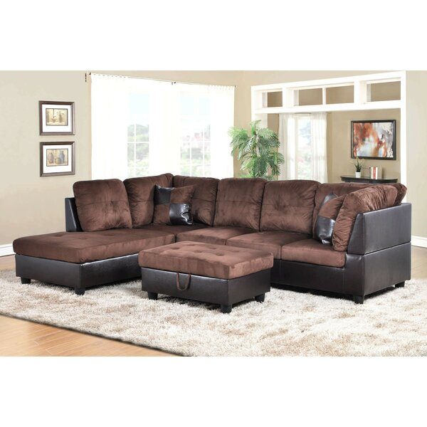 Favela Sectional with Ottoman by Winston Porter