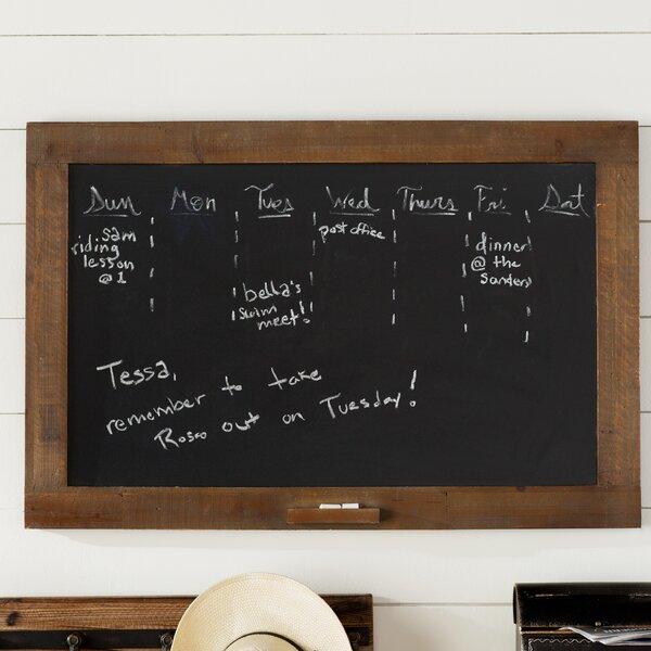 Wall Mounted Chalkboard by Laurel Foundry Modern Farmhouse