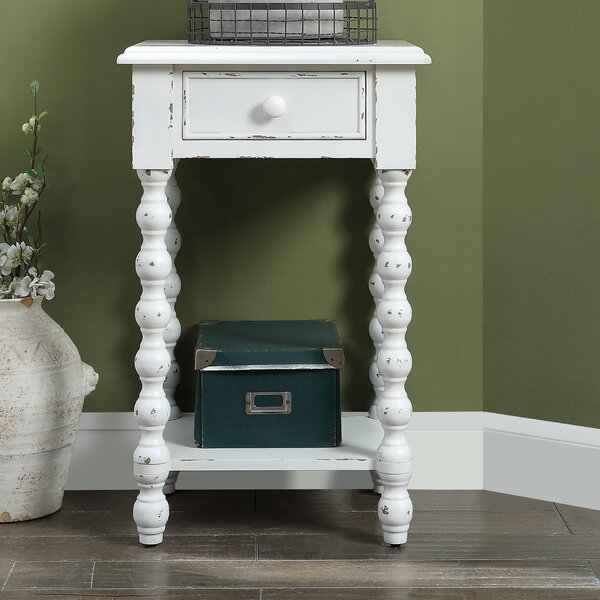 Stockbridge End Table by Highland Dunes