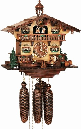 Musical Chalet Cuckoo Wall Clock by Schneider