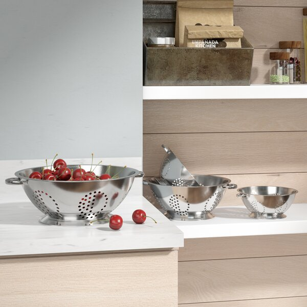 My 4 Piece Stainless Steel Colander Set by Mint Pantry
