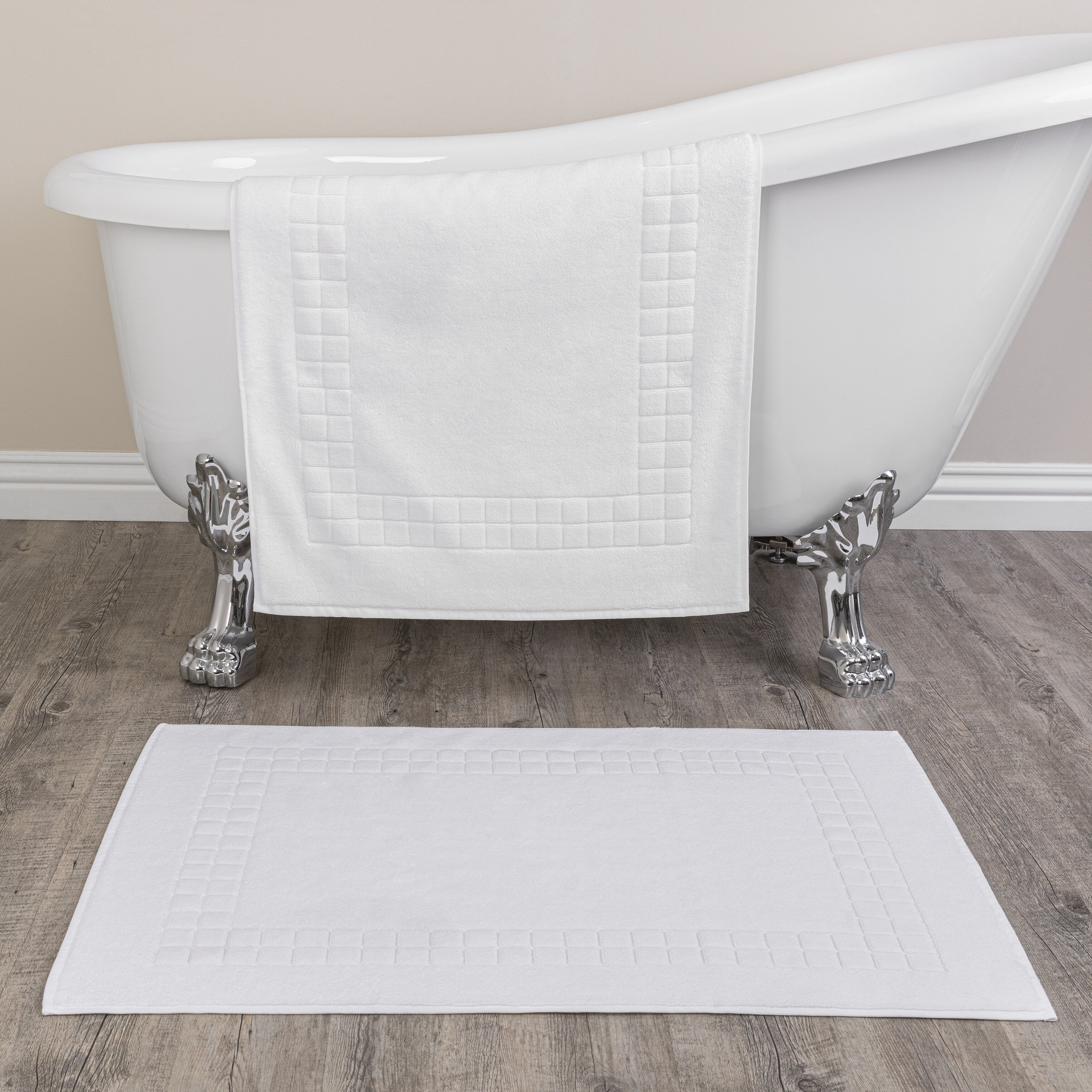 Chelsea 100 Cotton Bath Rug Set