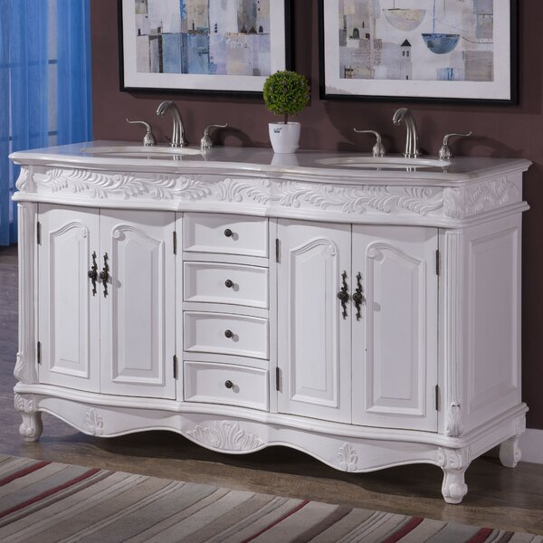 Torrey 60 Double Bathroom Vanity Set by Astoria Grand