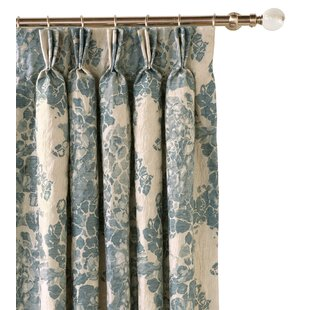Luxury Floral Flower Curtains Drapes Perigold