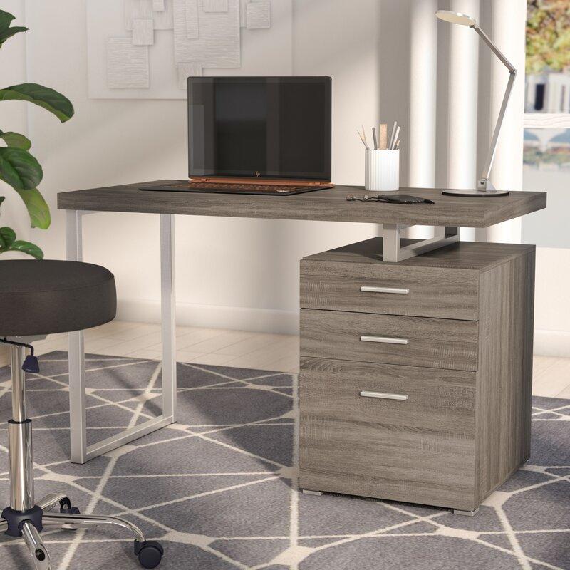 Wade Logan Kaitlyn Desk & Reviews | Wayfair