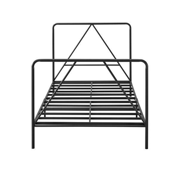 Nunlist Steel Twin Standard Bed by Ebern Designs