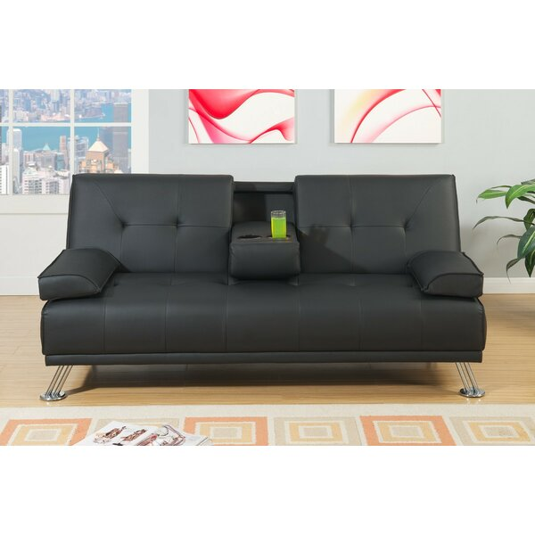 Akins Adjustable Convertible Sofa by Latitude Run