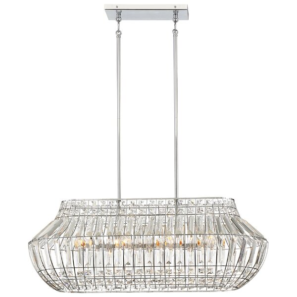 Needham Market 8-Light Kitchen Island Pendant by House of Hampton