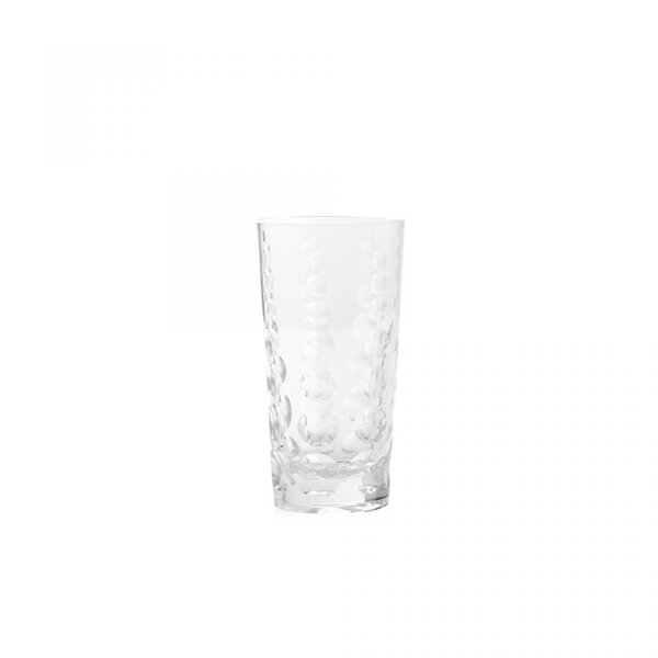 Draper Glass Highball Glass (Set of 6) by Brayden Studio