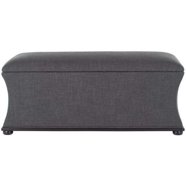 Kate Upholstered Storage Bench by Safavieh