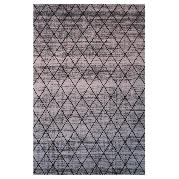 Aquarelle Grey Area Rug by L.A. Rugs