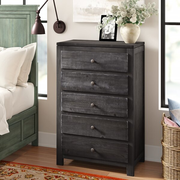 Sedgefield 5 Drawer Chest by Three Posts