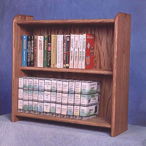200 Series 80 DVD Multimedia Tabletop Storage Rack by Wood Shed