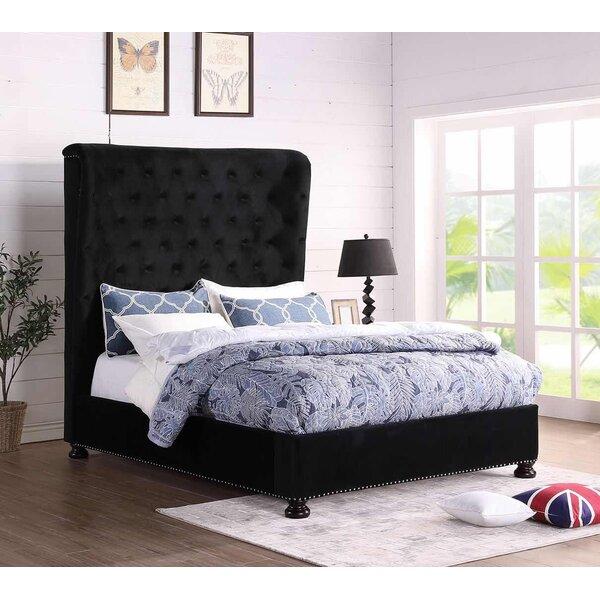 Hostetter King Upholstered Standard Bed by Mercer41