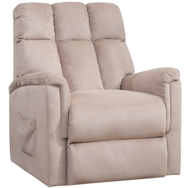 Linesville Faux Leather Power Glider Recliner W003246974