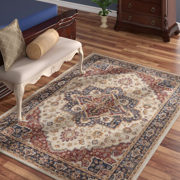 Westbrook Oriental Cream Area Rug by Astoria Grand
