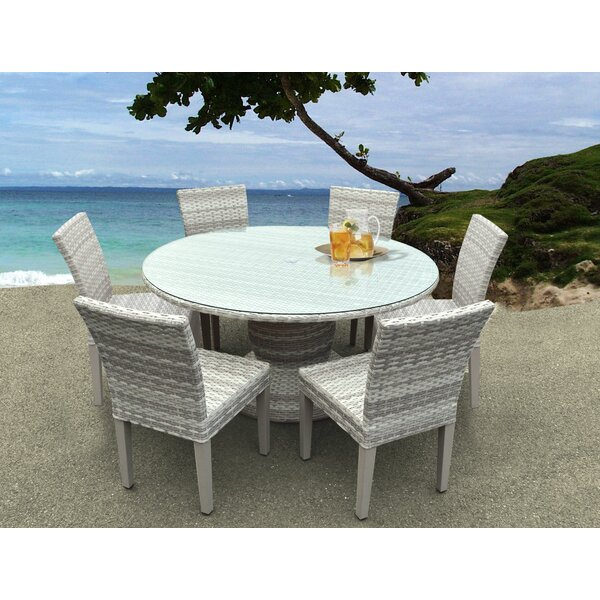 Waterbury 7 Piece Dining Set by Sol 72 Outdoor