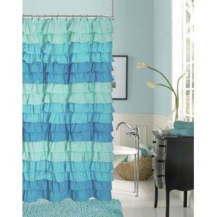 Bletsoe Ruffle Shower Curtain