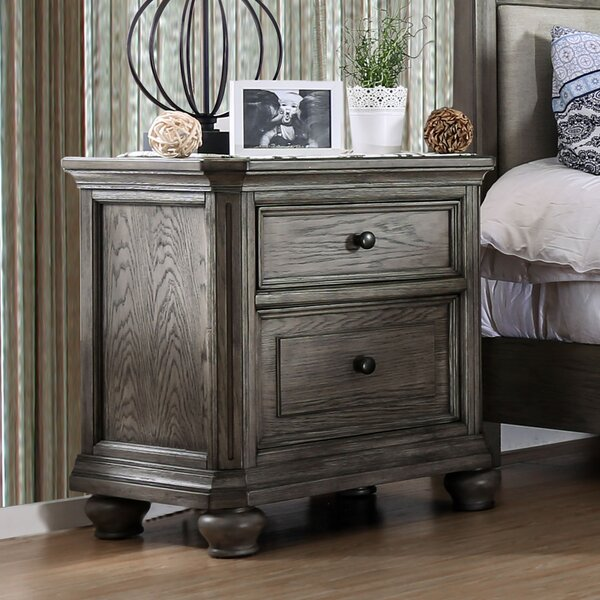 Gaetan 2 Drawer Nightstand by Darby Home Co