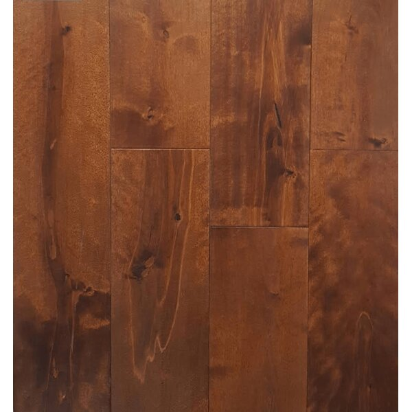 5 Solid Birch Hardwood Flooring in Brown by Yulf Design & Flooring