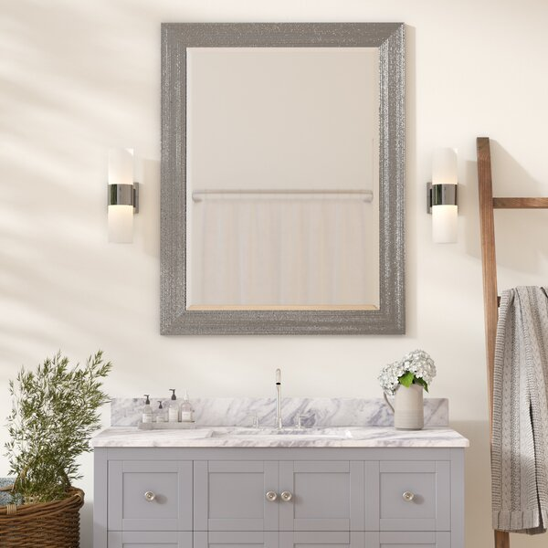 Zipcode Design Brynlee Beveled Edge Bathroom Vanity Wall Mirror Reviews Wayfair
