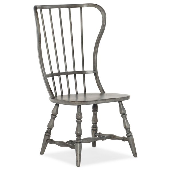 Ciaobella Modified Windsor Back Side Chair In Gray (Set Of 2) By Hooker Furniture