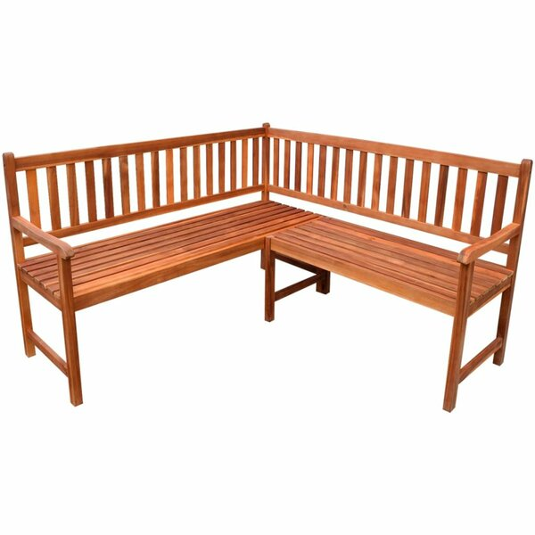 Wooden Garden Bench by East Urban Home