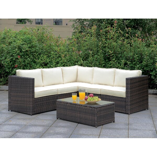 Morrell 6 Piece Deep Seating Group with Cushions