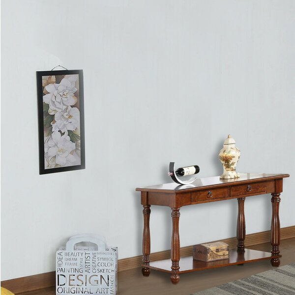 Review Rumfelt Traditional Console Table