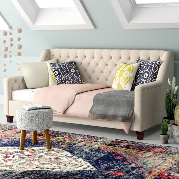 Pennington Twin Size Tufted Daybed by Mistana