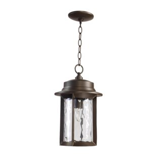 Best Reviews Osmond 1-Light Outdoor Hanging Lantern By Three Posts