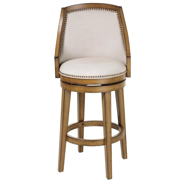 Currahee 26 Swivel Bar Stool (Set of 2) by Darby Home Co