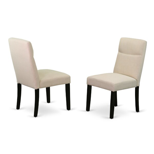 Damron Upholstered Dining Chair (Set of 2) by Charlton Home