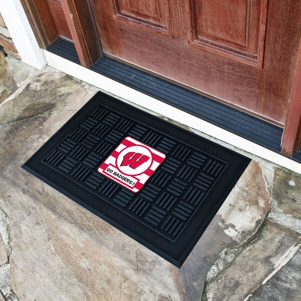 NCAA Wisconsin Southern Doormat by FANMATS