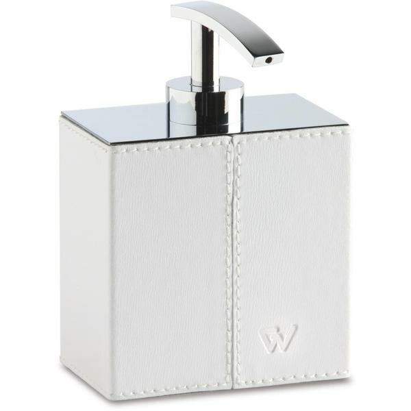 Sisler Box Leather Pump Soap & Lotion Dispenser by Orren Ellis
