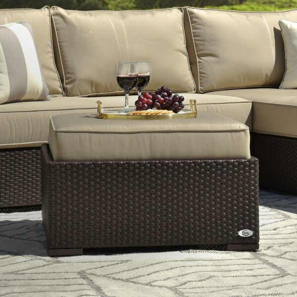 Laguna Outdoor Ottoman With Cushion By Serta At Home by Serta at Home Best Design