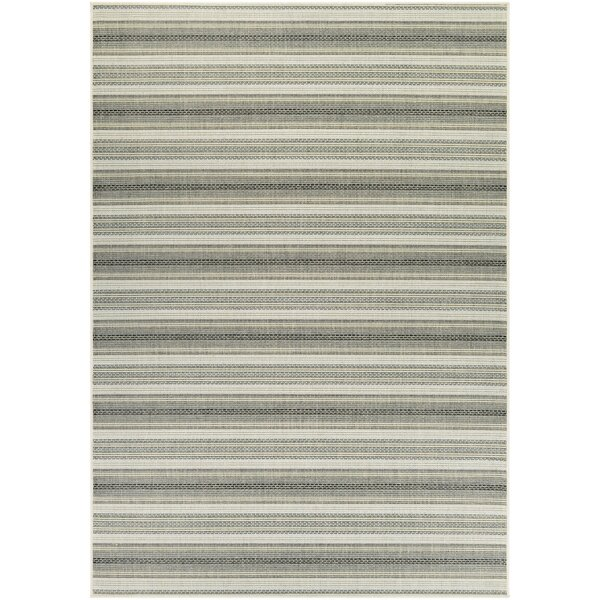 Wexford Gray IndoorOutdoor Area Rug by Beachcrest Home