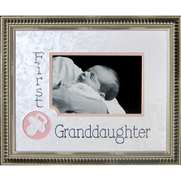 First Granddaughter Frame Photographic Print by The James Lawrence Company