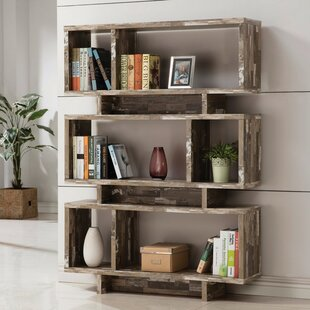 Partridge Charmed Wooden Cube Unit Bookcase Union Rustic