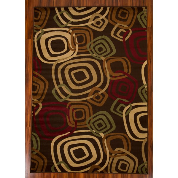 Chase 1607 Brown/Beige Area Rug by Ebern Designs