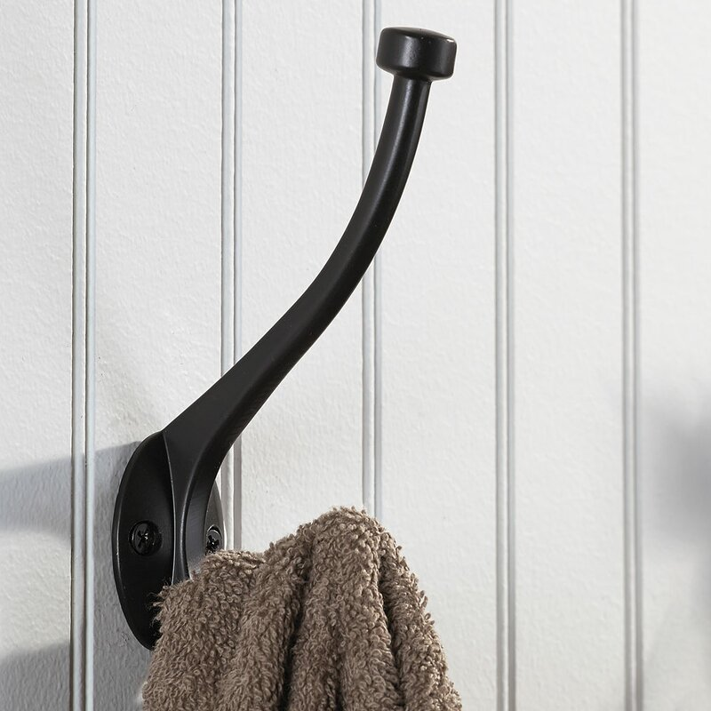 Classic forged iron wall hook